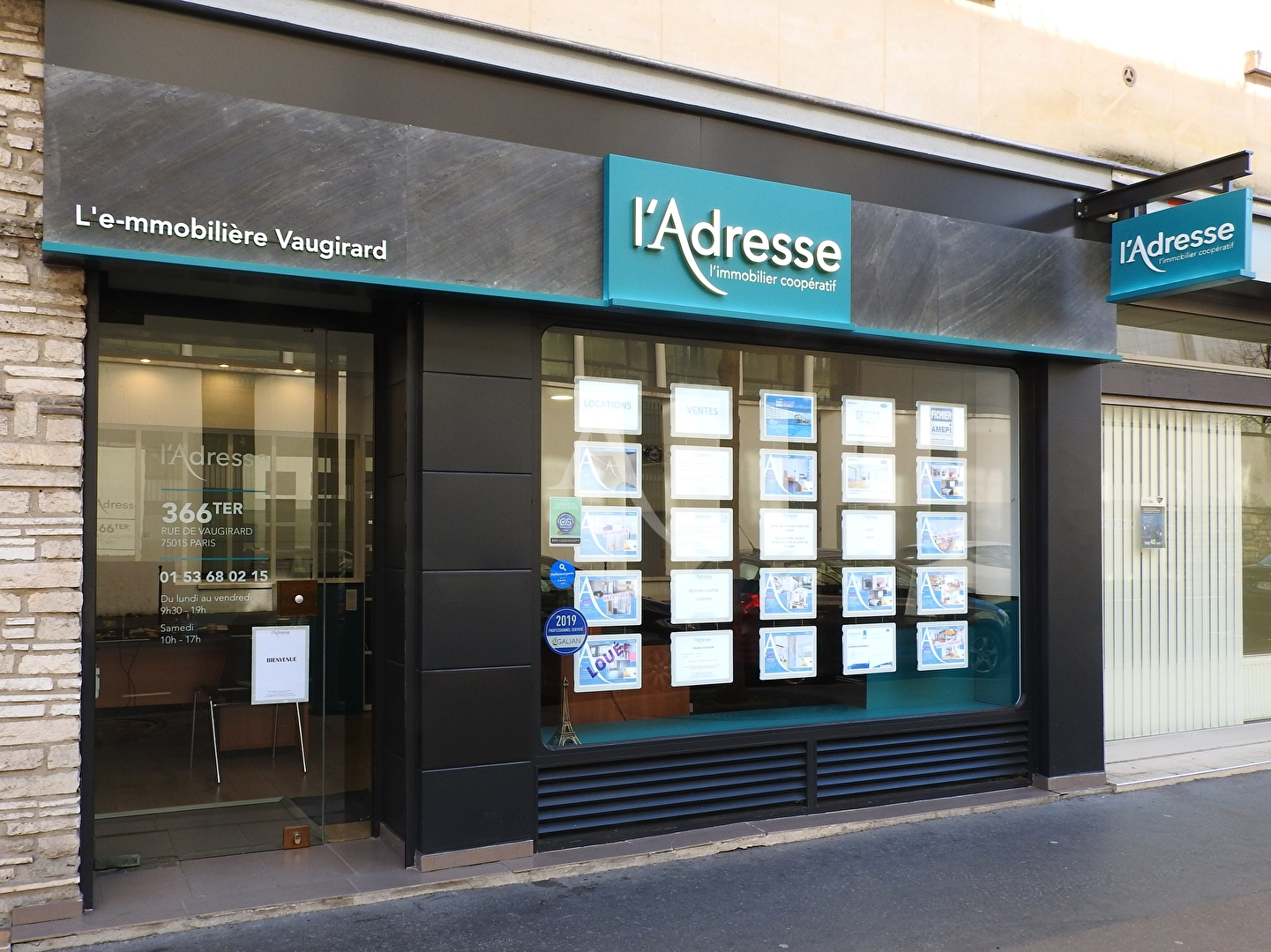L'ADRESSE - Paris (75015)